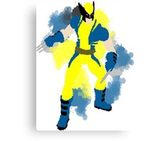 wolverine splat Canvas Print