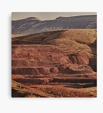 Tom Price Mining Canvas Print