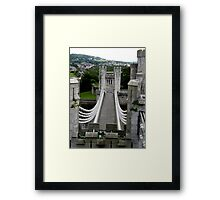 The genius of Telford Framed Print
