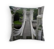 The genius of Telford Throw Pillow