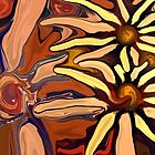 Sunflower Abstract by Chris  Butler