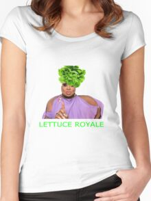 Lettuce royale Women's Fitted Scoop T-Shirt
