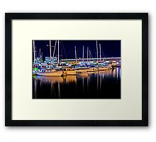 """""""Late Night Constitution"""" Framed Print"""