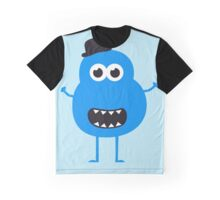 Funny Vintage/Retro Monster Graphic T-Shirt