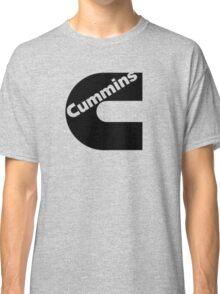 Black Cummins Logo Classic T-Shirt