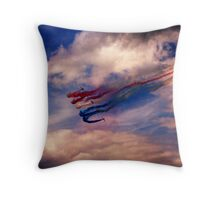 Red Arrows 1 Throw Pillow