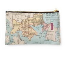 Manly suburban map Studio Pouch