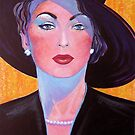 Glamorous Lady from the Fifties by Gregory Pastoll
