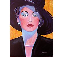 Glamorous Lady from the Fifties Photographic Print