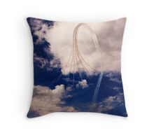 Red Arrows 4 Throw Pillow