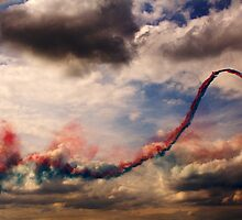 Red Arrows 5 by Epicurian