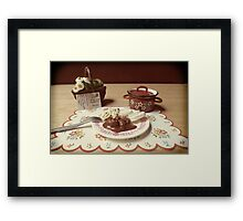 Grandma's Recipe #3 Framed Print
