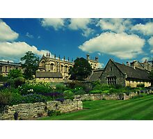 Oxford Town Photographic Print