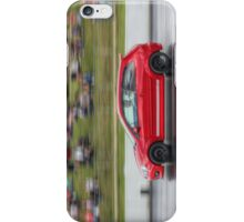 Red Fiesta ST on the Track iPhone Case/Skin