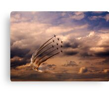 Red Arrows 6 Canvas Print