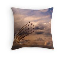 Red Arrows 6 Throw Pillow