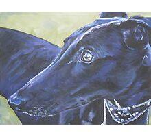 Greyhound Fine Art Painting Photographic Print