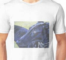 Greyhound Fine Art Painting Unisex T-Shirt