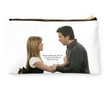 "Ross and Rachel in ""The Last One"" Studio Pouch"