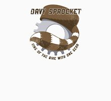 Davy Sprocket - King of the Bike With One Gear Unisex T-Shirt