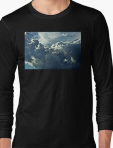 Partly Cloudy III Long Sleeve T-Shirt