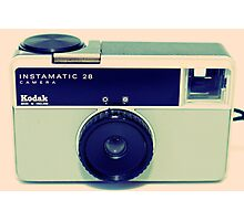 Kodak Instamatic 28 Photographic Print