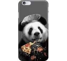 PANDA LOVES PIZZA iPhone Case/Skin