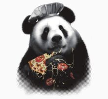 PANDA LOVES PIZZA Kids Clothes