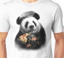 PANDA LOVES PIZZA Unisex T-Shirt