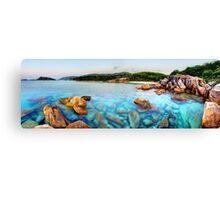 Island Paradise Dreaming Canvas Print
