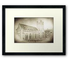 Black Abbey Kilkenny Framed Print