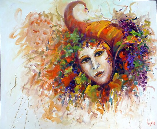 THE HARVEST MASK by Ivana Pinaffo