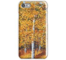 Afternoon in the Aspens iPhone Case/Skin