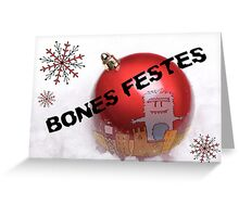 Bones Festes Greeting Card