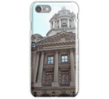 Classic Architecture, Former Police Headquarters, Centre Street, Lower Manhattan, New York City iPhone Case/Skin