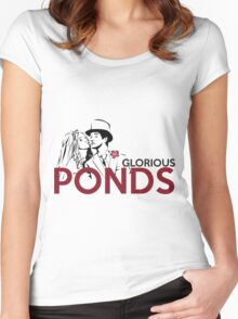 Glorious Ponds Women's Fitted Scoop T-Shirt