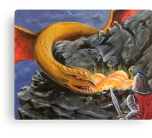 Dragon Nest Raider Canvas Print