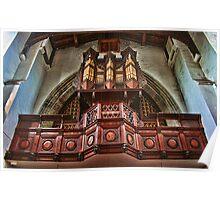 St Mary, Elham - Organ Loft Poster