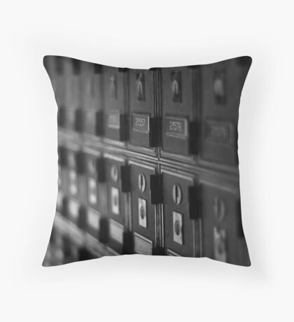 melbourne_in_50mm_5 Throw Pillow