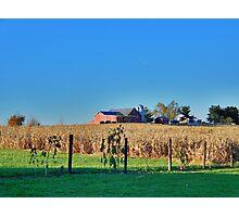 Farm In New Market Photographic Print