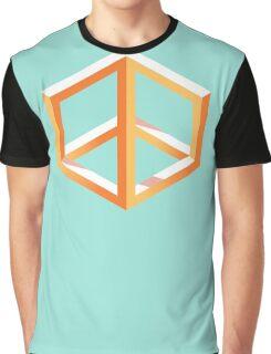 Peace in Escher Graphic T-Shirt