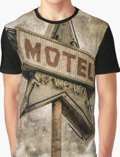 Vintage Grunge Star Motel Sign Graphic T-Shirt