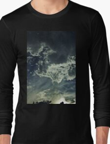 Partly Cloudy V Long Sleeve T-Shirt