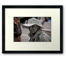 Cement Man Framed Print