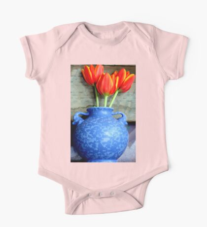 Elephantine Tulips One Piece - Short Sleeve