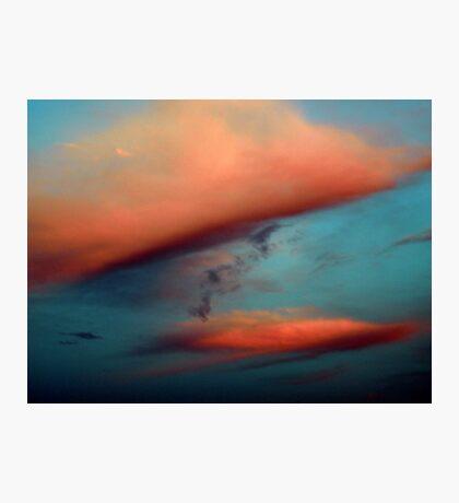 A Puffs of Orange Photographic Print