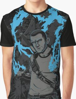 inFAMOUS2 Cole Ink  Graphic T-Shirt