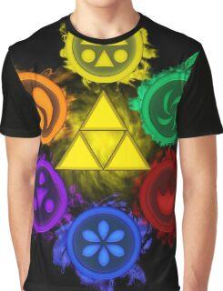 Legend of Zelda - Ocarina of Time - The 6 Sages Graphic T-Shirt