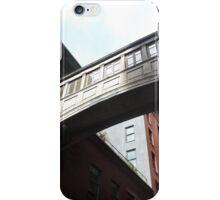 Claasic Bridge Between Buildings, Tribeca, Lower Manhattan, New York City  iPhone Case/Skin