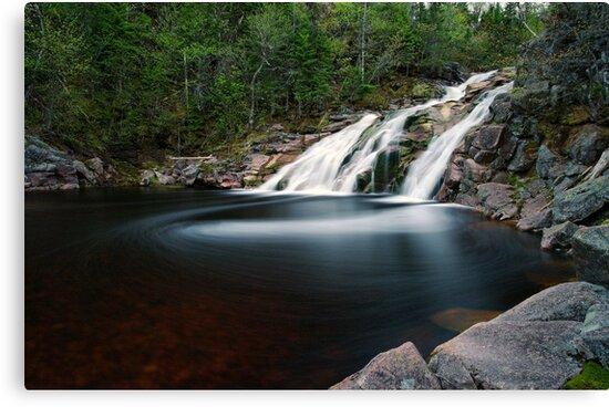 Mary Ann Falls, Cape Breton, Nova Scotia by Stephen Beattie